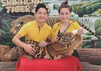 Hải Băng và Thành Đạt 'trốn con' đi du lịch Thái Lan