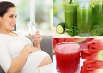Những loại nước uống tốt cho phụ nữ trong thời kỳ mang thai