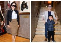 Mỹ Linh diện kính cực ngầu, Nguyễn Hải Phong dẫn con trai đi làm giám khảo