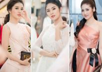 Hoa hậu, Á hậu Việt đua nhau khoe sắc trong sự kiện