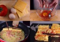 Vẫn là trứng chiên cà chua quen thuộc nhưng chỉ cần thêm 1 thứ nữa đảm bảo ngon hết sảy