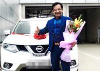Quang Tèo tậu xe mới có giá gần 1 tỷ đồng