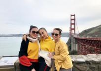 Đoan Trang xúc động đón sinh nhật sớm tại Mỹ cùng hội bạn thân