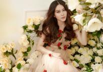 Nam Em hóa công chúa hoa trong bộ ảnh thời trang rực rỡ đón Tết