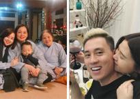 Hot girl và hot boy 16/2/2018: Ly Kute đón giao thừa ở chùa, Kiên Hoàng hạnh phúc bên vợ