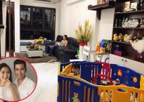 Hé lộ thêm loạt ảnh mới bên trong căn hộ 5 tầng của vợ chồng Ngọc Lan