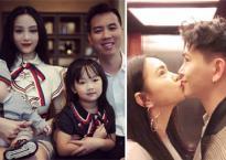 Hot girl và hot boy 17/2/2018: Huyền Baby xinh đẹp bên chồng con, Châu Bùi hôn Decao