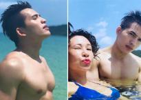 Quốc Thiên khoe body khi đi du lịch Campuchia, stylist Hoàng Ku bình luận bất ngờ