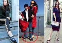 Sự tinh tế trong cách chọn giày/dép của Đàm Thu Trang khi yêu Cường Đôla