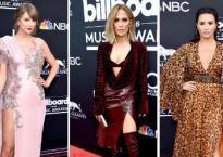 Taylor Swift như nữ thần bên dàn sao hở bạo trên thảm đỏ Billboard Music Awards 2018