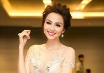 Hoa hậu Diễm Hương trẻ trung như gái 18 tại sự kiện