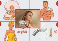 Tắm quá lâu không giúp bạn sạch hơn mà còn làm tăng nguy cơ bị ngứa, phát ban