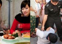 Dẫn bạn trai về ra mắt, lúc ăn cơm cô con gái liên tục đánh rơi đũa, vừa ngó xuống bàn bà mẹ lập tức hành động để cứu cả gia đình