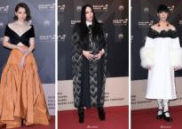 Giữa dàn sao 'dị', Từ Nhược Tuyên khoe vòng một nóng bỏng đốt cháy thảm đỏ 'Golden Melody Awards 2018'