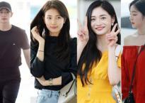 Suzy chìm nghỉm giữa loạt sao Hàn khi cùng xuất hiện đổ bộ tại sân bay Incheon