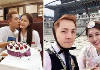 Đăng Khôi tổ chức sinh nhật cho bà xã Thủy Anh khi sang Hàn Quốc du lịch