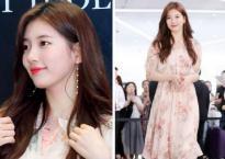 Suzy tái xuất với nhan sắc 'nữ thần' sau khi chia tay 'ông chú' Lee Dong Wook