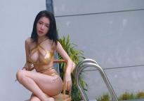Diện bikini, Elly Trần 'đốt mắt' người nhìn khi khoe eo thon, vòng một khủng