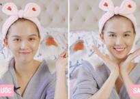 Ngọc Trinh chia sẻ bí kíp make-up hoàn hảo từ a-z trong 5 phút