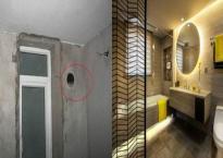 Chồng làm một cái lỗ trên tường phòng tắm khiến vợ bối rối nhưng không ngờ sau đó nó có tác dụng lớn thế