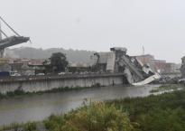 Cảnh sập cầu cao tốc ở italia như ngày tận thế khiến hàng chục người chết