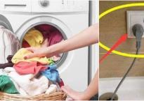 Có phải rút phích cắm máy giặt khi dùng xong? Hóa ra gia đình tôi đã làm sai trong nhiều năm qua