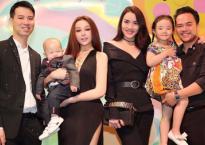 Huyền Baby diện trang phục gợi cảm trong tiệc sinh nhật con trai