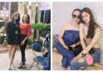 Không chỉ thừa hưởng về nhan sắc, Hoa hậu Trần Tiểu Vy và mẹ ruột còn rất hợp cạ về thời trang
