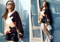 Triệu Vy sành điệu chẳng khác fashionista, khoe chân thon dáng nuột khi lên đường sang Milan