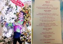 Thực đơn trong tiệc sinh nhật của Đàm Vĩnh Hưng toàn 'cao lương mĩ vị'