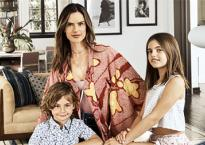 'Thiên thần' Alessandra Ambrosio tiết lộ tổ ấm sang đẹp với phong cách boho