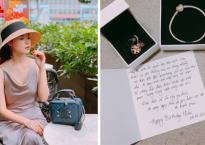 Nhân dịp sinh nhật, Midu nhận được lời nhắn: 'Hãy để anh là người đặc biệt dành tặng thêm sự yêu thương cho em'