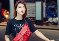 Hoàng Oanh 'chất phát ngất' ở sân bay, đến Hàn tham dự Seoul Fashion Week