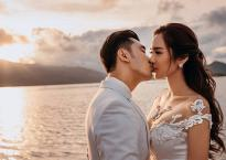 Ngắm bộ ảnh cưới kì công của Ưng Hoàng Phúc và bà xã Kim Cương