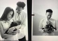 'Thánh chế' Nhật Anh Trắng hạnh phúc khoe con đầu lòng đáng yêu