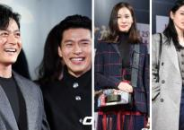 2 quý ông Jang Dong Gun và Hyun Bin cùng dàn sao khủng hội tụ trong buổi chiếu VIP phim về xác sống