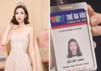Hoa hậu Đỗ Mỹ Linh đã chính thức trở thành cộng tác viên mới của VTV