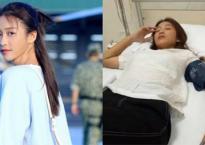 Khả Ngân phải nhập viện vì kiệt sức khi đang quay 'Hậu duệ Mặt trời'