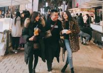 Không quan tâm lùm xùm thất thiệt, Bảo Anh vi vu Hàn Quốc cùng Hòa Minzy