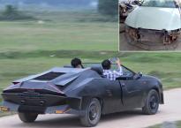 Hai thanh niên Hà Tĩnh gây sốt khi biến đống đồng nát thành siêu xe mui trần đẹp mê ly