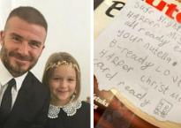 Harper đáng yêu và tâm lý thế này bảo sao bố David Beckham không chiều cô bé nhất nhà