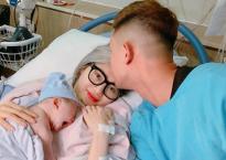 Em gái Quang Vinh khoe ảnh hạnh phúc bên chồng cơ trưởng và con gái đầu lòng