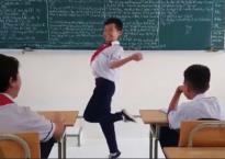 Bị cô giáo phạt, cậu bé nhảy dẻo quẹo như vũ công chuyên nghiệp