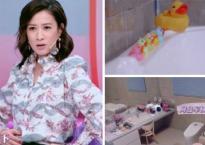 """Phòng tắm ngập tràn sắc hồng cùng đồ chơi con nít của """"Kế Hoàng hậu"""" Xa Thi Mạn"""