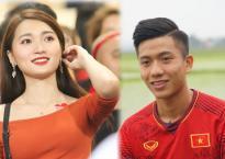 Bạn gái tin đồn Phan Văn Đức gây sốt trên khán đài trận Việt Nam 2-0 Malaysia