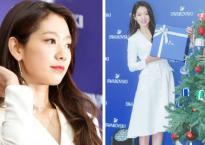Giáng sinh sắp tới, Park Shin Hye hóa thân thành công chúa tuyết trong bộ đầm trắng