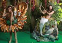 Ngoài Bánh mì của H'Hen Niê, đây là những bộ trang phục dân tộc 'chặt chém' nhất sân khấu Miss Universe 2018