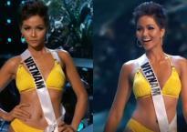 H'Hen Niê diện bikini, sải bước catwalk ấn tượng tại bán kết Miss Universe 2018