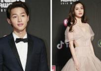 Song Joong Ki siêu điển trai, Angelababy như công chúa trên thảm đỏ MAMA 2018 tại Hong Kong