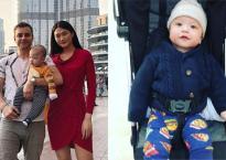 Con trai lai Tây của Kha Mỹ Vân lần đầu đi du lịch Dubai cùng bố mẹ